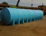 Накопительная емкость 75 м3 для питьевой воды